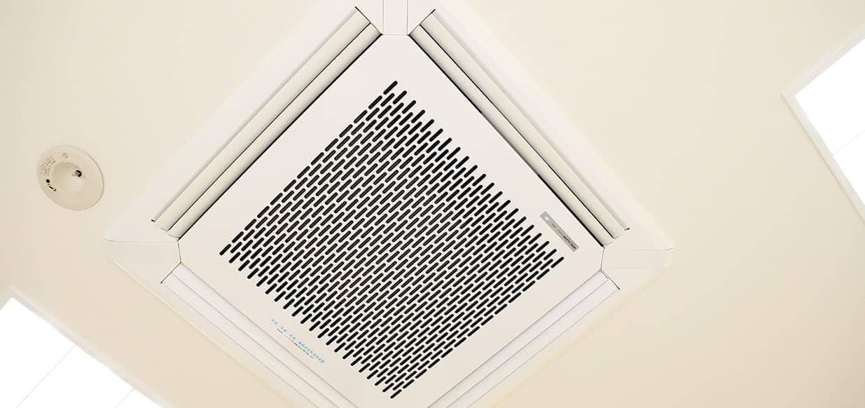 空気清浄システムを院内に導入
